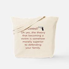 Gun Control. Tote Bag