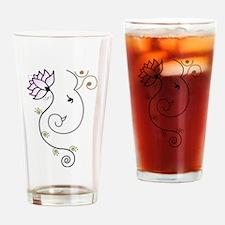 Ohm Ganesha Drinking Glass