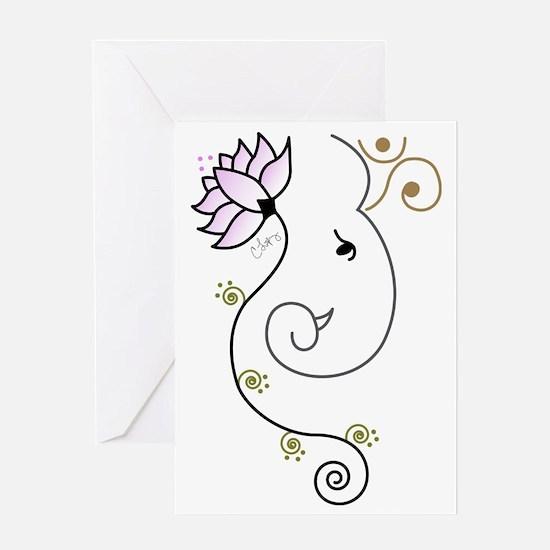 Ohm Ganesha Greeting Cards