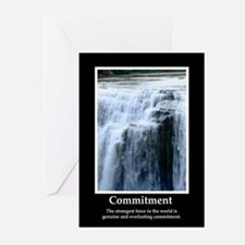 Commitment Motivational Greeting Cards (Pk of 10)