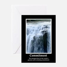 Commitment Motivational Greeting Card