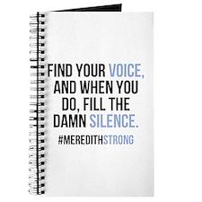 Grey's Anatomy: Find Your Voice Journal