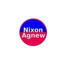 Nixon Agnew Mini Button