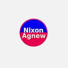 Nixon Agnew Mini Button