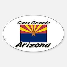Casa Grande Arizona Oval Decal