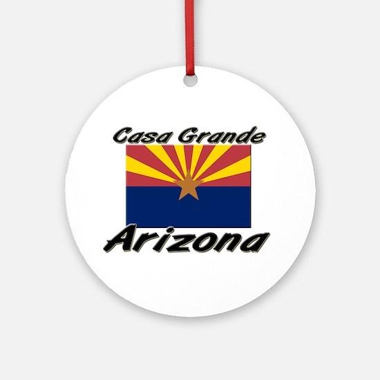 Casa Grande Arizona Ornament (Round)