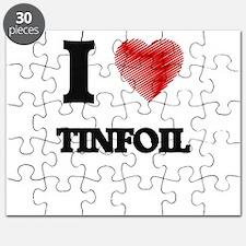 I love Tinfoil Puzzle