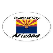 Bullhead City Arizona Oval Decal