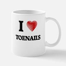 I love Toenails Mugs