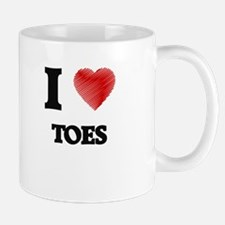 I love Toes Mugs