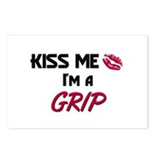 Kiss Me I'm a GRIP Postcards (Package of 8)