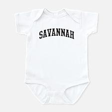 SAVANNAH (curve) Infant Bodysuit