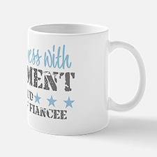 Cute Proud usaf fiancee Mug