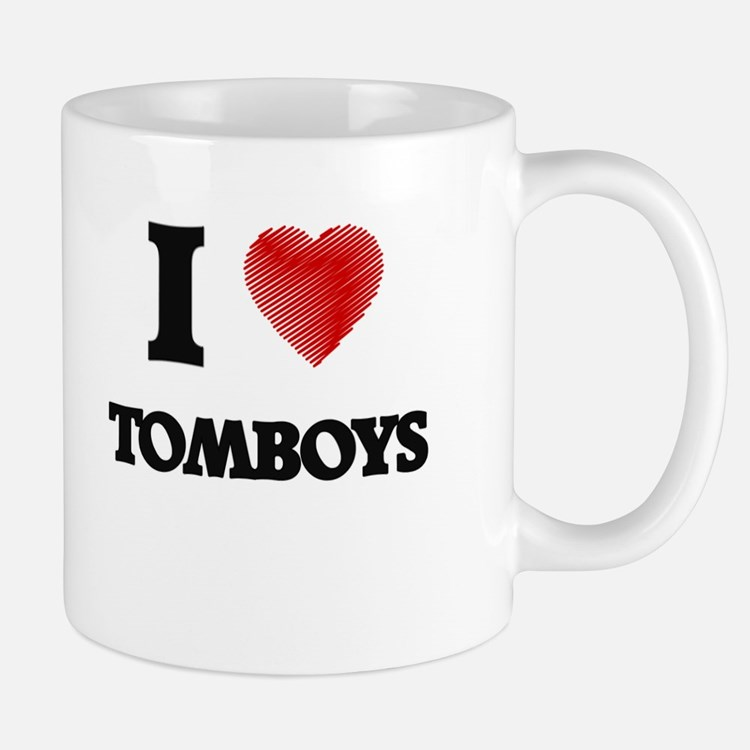 I love Tomboys Mugs
