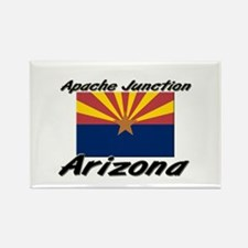 Apache Junction Arizona Rectangle Magnet