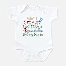 Probation Officer Like Daddy Infant Bodysuit