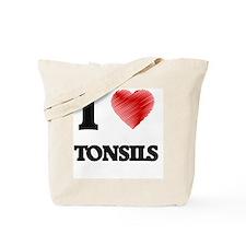 I love Tonsils Tote Bag