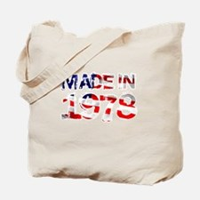 Made In USA 1978 Tote Bag