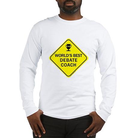 Coach Debate Long Sleeve T-Shirt