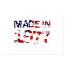 Made In USA 1977 Postcards (Package of 8)