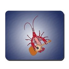 Crayfish Guitarist Mousepad