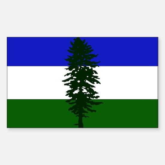 Flag of Cascadia Decal