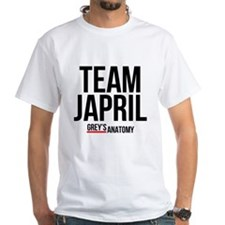 Grey's Anatomy: Team Japril White T-Shirt