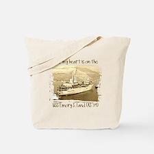 Cute Proud sailor%27s wife Tote Bag