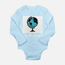 Round-the-World Infant Creeper Body Suit
