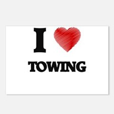 I love Towing Postcards (Package of 8)