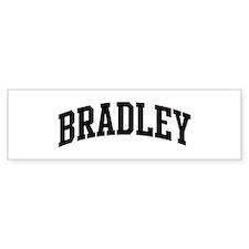 BRADLEY (curve) Bumper Bumper Sticker