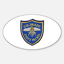 Colorado State Patrol Mason Decal