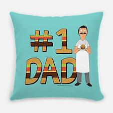 Bob's Burgers #1 Dad Everyday Pillow