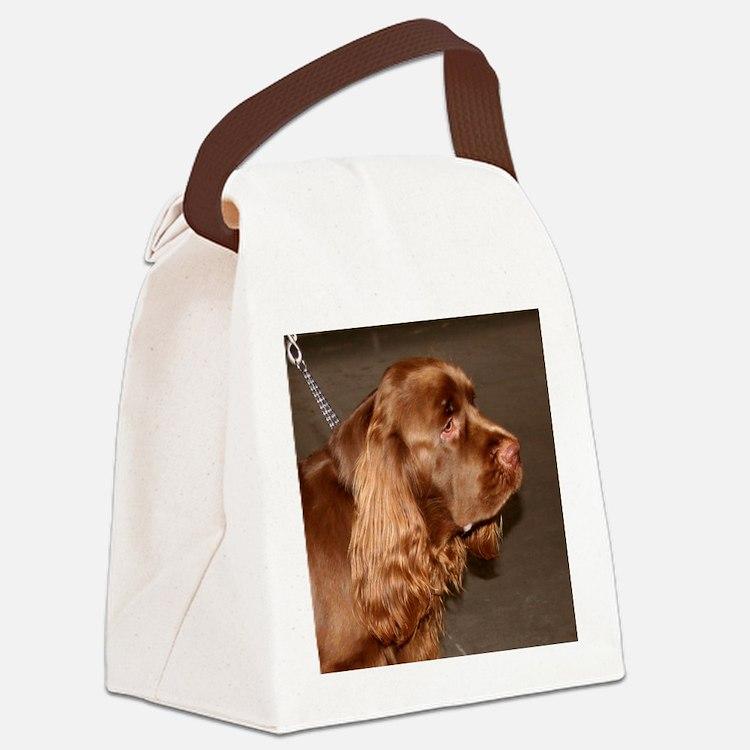 sussex spaniel Canvas Lunch Bag