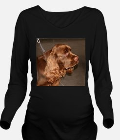 sussex spaniel Long Sleeve Maternity T-Shirt
