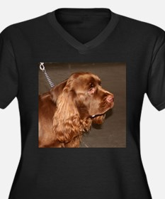 sussex spaniel Plus Size T-Shirt