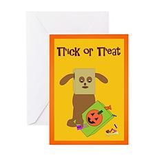 Doggone Halloween Greeting Card