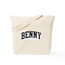 BENNY (curve) Tote Bag