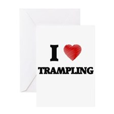 I love Trampling Greeting Cards