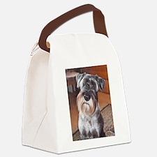 Standard Schnauzer Canvas Lunch Bag
