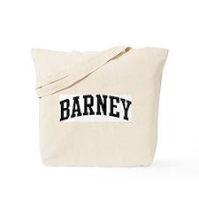BARNEY (curve) Tote Bag