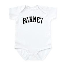 BARNEY (curve) Infant Bodysuit