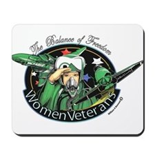 Women Veterans Mousepad