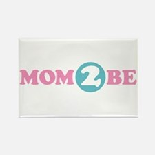 Mom 2 Be Rectangle Magnet