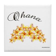 """""""OHANA"""" Tile Coaster"""