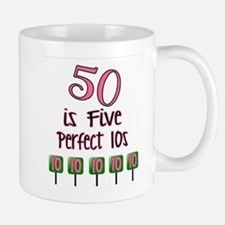 50 is Five Perfect TENS Mugs