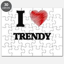 I love Trendy Puzzle