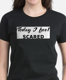 Today I feel scared Ash Grey T-Shirt