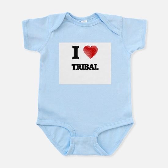 I love Tribal Body Suit