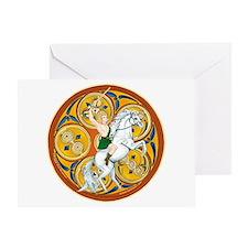 Celtic Warrior Greeting Card